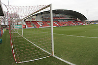 A general view of The Highbury Stadium the home of Fleetwood Town<br /> <br /> Photographer Mick Walker/CameraSport<br /> <br /> Emirates FA Cup Third Round - Fleetwood Town v AFC Wimbledon - Saturday 5th January 2019 - Highbury Stadium - Fleetwood<br />  <br /> World Copyright © 2019 CameraSport. All rights reserved. 43 Linden Ave. Countesthorpe. Leicester. England. LE8 5PG - Tel: +44 (0) 116 277 4147 - admin@camerasport.com - www.camerasport.com
