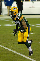 Green Bay Packers safety Josh Jones (27) during a National Football League game against the Minnesota Vikings on December 23rd, 2017 at Lambeau Field in Green Bay, Wisconsin. Minnesota defeated Green Bay 16-0. (Brad Krause/Krause Sports Photography)