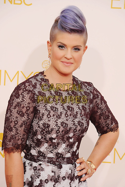 LOS ANGELES, CA- AUGUST 25: TV personality Kelly Osbourne arrives at the 66th Annual Primetime Emmy Awards at Nokia Theatre L.A. Live on August 25, 2014 in Los Angeles, California.<br /> CAP/ROT/TM<br /> &copy;Tony Michaels/Roth Stock/Capital Pictures