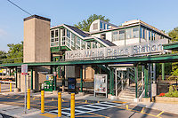 Metro-North North White Plains Station in White Plains, New York.