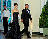 Governor Ronald DeSantis (Republican of Florida) and Casey DeSantis arrive for the State Dinner hosted by United States President Donald J. Trump and First lady Melania Trump in honor of Prime Minister Scott Morrison of Australia and his wife, Jenny Morrison, at the White House in Washington, DC on Friday, September 20, 2019.<br /> Credit: Ron Sachs / Pool via CNP