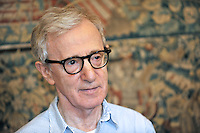 US film director and actor Woody Allen portrayed in Rome on July 6, 2011.