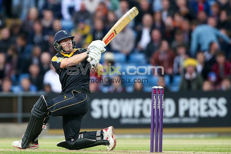 Picture by Alex Whitehead/SWpix.com - 19/06/2015 - Cricket - NatWest T20 Blast - Yorkshire Vikings v Nottinghamshire Outlaws - Headingley Cricket Ground, Leeds, England - Yorkshire's Andrew Hodd.
