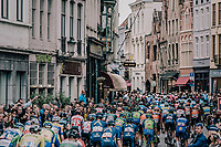 race start in the centre of Bruges.<br /> <br /> 2nd Elfstedenronde 2018<br /> 1 day race: Brugge - Brugge 196.3km