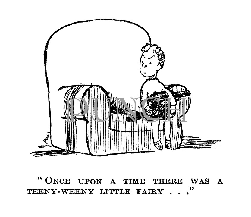 """""""Once upon a time there was a teeny-weeny little fairy ..."""""""