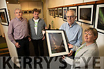 Pictured on Wednesday last at launch of 'Images of Starlight' Exhibition which opens at Kerry County Library, today Thursday at 5pm l-r: Paddy Stack (Kerry Astronomy Club), Mike O'Neill (Wild Mind), John Dolan (Irish Astronomical Society) and Noirín O'Keeffe (Kerry County Library).