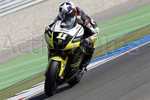 25 06 2010 MotoGP TIM TT Assen Free Practice 2 and Qualifying, Netherlands, June 25, 2010. Ben Spies Tech 3 Yamaha