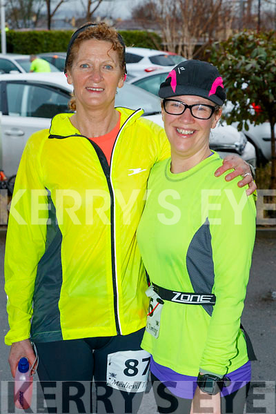 Nora and Sinead Kelleher who took part in the Optimal Fitness 10 miler run at The Rose Hotel, Tralee, on Sunday morning last.
