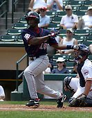 July 14, 2003:  Lou Collier of the Pawtucket Red Sox, Class-AAA affiliate of the Boston Red Sox, during a International League game at Frontier Field in Rochester, NY.  Photo by:  Mike Janes/Four Seam Images