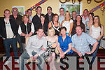 BIRTHDAY: Deirdre Ryan of Shanakill (seated centre) at her 21st birthday in The Imperial Hotel, Tralee, on Friday evening, along with boyfriend Andy Hartnett, family and friends..
