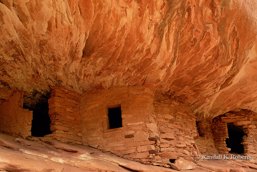 House on Fire ruin, north fork of Mule Canyon, Cedar Mesa, Utah.