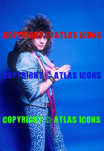 BON JOVI 1985 WILLIAM HAMES