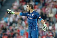Athletic de Bilbao's Gorka Iraizoz during Supercup of Spain 1st match.August 14,2015. (ALTERPHOTOS/Acero)