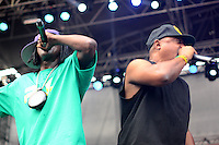 São Paulo, SP - 18.10.2014 - PUBLIC ENEMY- O grupo de hip hop Public Enemy faz um show de graça na reabertura do clube de regatas Tietê na tarde deste sábado, (18) (Foto: Renato Mendes / Brazil Photo Press)