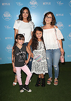 LOS ANGELES, CA - AUGUST 10: Courtney Laine Mazza, Gia Francesca Lopez, Guests, at the Netflix Series Premiere Of True And The Rainbow Kingdom at the Pacific Theatres at The Grove in Los Angeles, California on August 10, 2017. Credit: Faye Sadou/MediaPunch