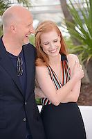 "John Hillcoat and Jessica Chastain  attending the ""Lawless"" Photocall during the 65th annual International Cannes Film Festival in Cannes, France, 19th May 2012...Credit: Timm/face to face /MediaPunch Inc. ***FOR USA ONLY***"