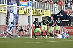 Nederland, Zwolle, 11 november  2012.Eredivisie.Seizoen 2012-2013.PEC-Zwolle-Ajax.Toby Alderweireld van Ajax scoort de 1-0