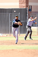 Mario Martinez - Seattle Mariners - 2010 Instructional League.Photo by:  Bill Mitchell/Four Seam Images..
