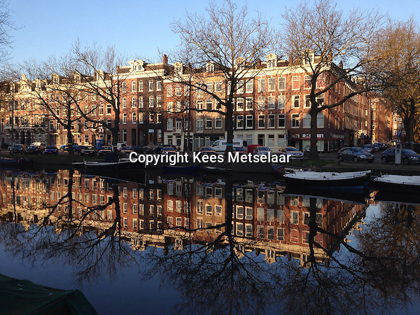 Netherlands,  March 2014 Early spring in Amsterdam  this year.<br /> <br /> Photo Kees Metselaar