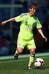 Saori Ariyoshi (JPN), <br /> MARCH 6, 2015 - Football / Soccer : <br /> Algarve Women's Football Cup 2015 Group C match <br /> between Japan 3-0 Portugal <br /> at Algarve Stadium in Faro, Portugal. <br /> (Photo by YUTAKA/AFLO SPORT)[1040]