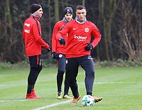 Renat Dadashov (Eintracht Frankfurt) - 29.12.2017: Eintracht Frankfurt Training, Commerzbank Arena