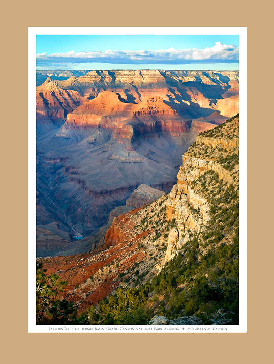 Eastern Slope of the Hermit Basin<br /> Grand Canyon National Park