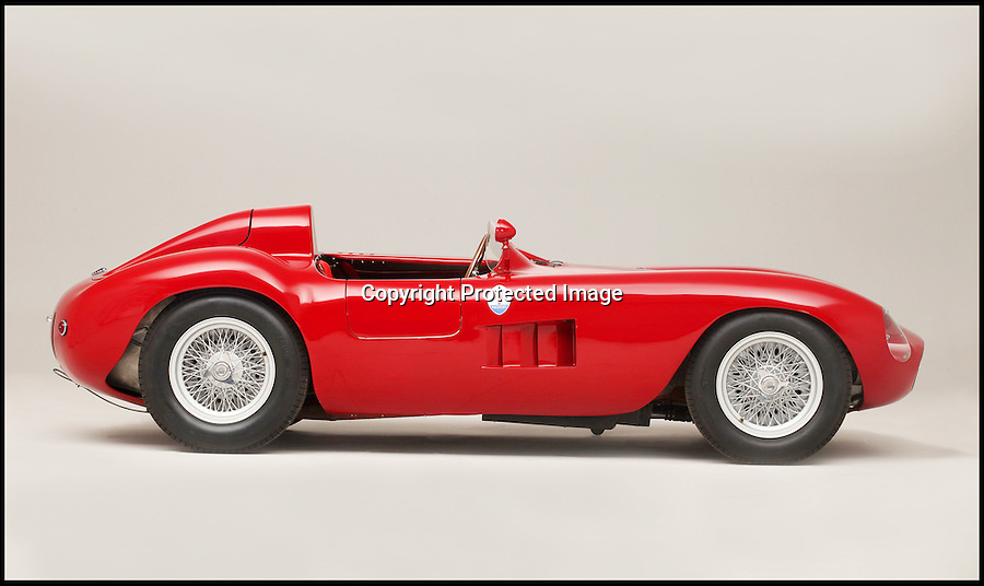 BNPS.co.uk (01202 558833)<br /> Pic: Bonhams/James Mann/BNPS <br /> <br /> ***Must Use Full Byline***<br /> <br /> Sold for &pound;4 million - World record price paid for beautiful Maserati racing car.<br /> <br /> This stunning 1955 Maserati 300S has smashed the world record price for the legendary italian sportscar brand after a bidding frenzy at the Goodwood Festival of Speed.<br /> <br /> Powered by a 3 litre, straight six engine Stirling Moss described it as 'one of the easiest, nicest, best balanced racing cars ever made' - this car was raced in America by 'Big' Bill Spear in the 1950's.<br /> <br /> The previous record price for a Maserati was &pound;2.25 million.