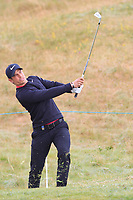 Adrien Saddier (FRA) on the 1st fairway during Round 1 of the Dubai Duty Free Irish Open at Ballyliffin Golf Club, Donegal on Thursday 5th July 2018.<br /> Picture:  Thos Caffrey / Golffile