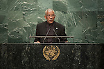 General Assembly Seventy-first session: Opening of the General Debate 71 United Nations, New York<br /> <br /> Per: Gaian