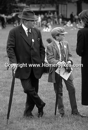 "Like father like son ""Countryside Alliance"" Demonstration ""Hyde Park"" London England"