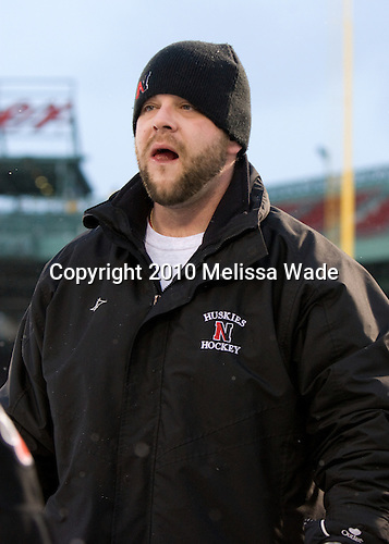 Matt Nareski - The University of New Hampshire Wildcats defeated the Northeastern University Huskies 5-3 (EN) on Friday, January 8, 2010, at Fenway Park in Boston, Massachusetts as part of the Sun Life Frozen Fenway doubleheader.