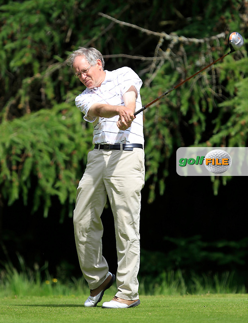 Tom Tyrrell (The Heath) on the 8th tee during Round 1 of the Leinster Seniors Amateur Open Championship at Enniscorthy Golf Club on Tuesday 23rd June 2015.<br /> Picture:  Thos Caffrey / www.golffile.ie
