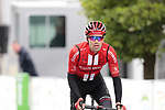 Tom Dumoulin (NED) Team Sunweb losing 9 minutes in the last 20km crosses the finish line of Stage 2 of the Criterium du Dauphine 2019, running 180km from Mauriac to Craponne-sur-Arzon, France. 9th June 2019<br /> Picture: Colin Flockton | Cyclefile<br /> All photos usage must carry mandatory copyright credit (© Cyclefile | Colin Flockton)