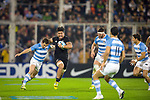 September 29, 2018. Jose Amalfitani, Buenos Aires, Argentina.  Ardie Savea run with the ball during second half of the match.