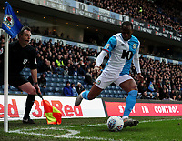 Blackburn Rovers' Ryan Nyambe in action<br /> <br /> Photographer Alex Dodd/CameraSport<br /> <br /> The EFL Sky Bet Championship - Blackburn Rovers v Preston North End - Saturday 11th January 2020 - Ewood Park - Blackburn<br /> <br /> World Copyright © 2020 CameraSport. All rights reserved. 43 Linden Ave. Countesthorpe. Leicester. England. LE8 5PG - Tel: +44 (0) 116 277 4147 - admin@camerasport.com - www.camerasport.com
