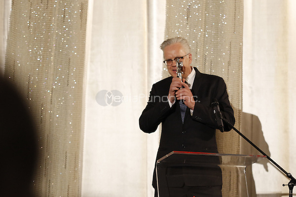 Tim Robbins receiving the &quot;Berlinale Kamera&quot; award at the &quot;Dead Man Walking&quot; screening held at Kino International during 66th Berlinale International Film Festival, Berlin, Germany, 13.02.2016. <br /> Photo by Christopher Tamcke/insight media /MediaPunch ***FOR USA ONLY***