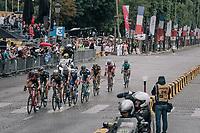 traditional breakaway attempt on the Champs-Elysées<br /> <br /> 104th Tour de France 2017<br /> Stage 21 - Montgeron › Paris (105km)