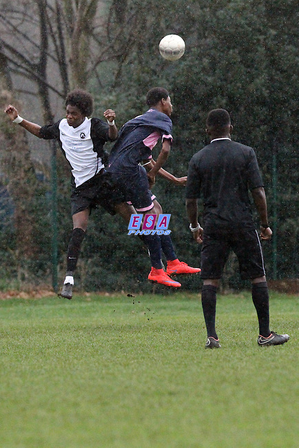 FISHER v DULWICH HAMLET<br /> KENT YOUTH LEAGUE<br /> U15 NORTH<br /> SUNDAY 20TH DECEMBER 2015