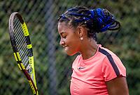Hilversum, Netherlands, August 8, 2018, National Junior Championships, NJK, Noa Liauw-A-Fong (NED)<br /> Photo: Tennisimages/Henk Koster