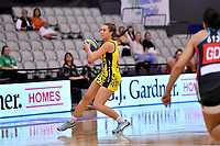 Central Manawa&rsquo;s Jessica Fagan-Pease in action during the Beko Netball League - Central Manawa v Hellers Mainland at Fly Palmy Arena, Palmerston North, New Zealand on Sunday 10 March 2019. <br /> Photo by Masanori Udagawa. <br /> www.photowellington.photoshelter.com