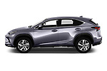Car driver side profile view of a 2018 Lexus NX Executive Line 5 Door SUV