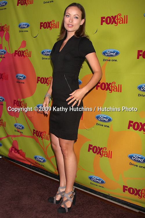 Olivia Wilde  arriving at the FOX-Fall Eco-Casino Party at BOA Steakhouse  in West Los Angeles, CA on September 14, 2009.©2009 Kathy Hutchins / Hutchins Photo