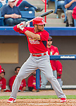 7 March 2015: St. Louis Cardinals outfielder Thomas Pham in Spring Training action against the Washington Nationals at Space Coast Stadium in Viera, Florida. The Cardinals fell to the Nationals 6-5 in Grapefruit League play. Mandatory Credit: Ed Wolfstein Photo *** RAW (NEF) Image File Available ***