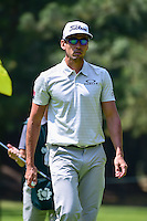 Rafa Cabrera-Bello (ESP) after sinking his putt on 1 during round 1 of the World Golf Championships, Mexico, Club De Golf Chapultepec, Mexico City, Mexico. 3/2/2017.<br /> Picture: Golffile | Ken Murray<br /> <br /> <br /> All photo usage must carry mandatory copyright credit (&copy; Golffile | Ken Murray)