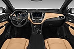 Stock photo of straight dashboard view of 2018 Chevrolet Equinox Premier 5 Door SUV Dashboard