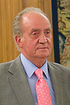16.07.2012. King Juan Carlos I of Spain attend  a audience with Alfredo Perez Rubalcaba, Secretary General of the PSOE, in the Palacio de la Zarzuela in Madrid. In the image Juan Carlos I (Alterphotos/Marta Gonzalez)