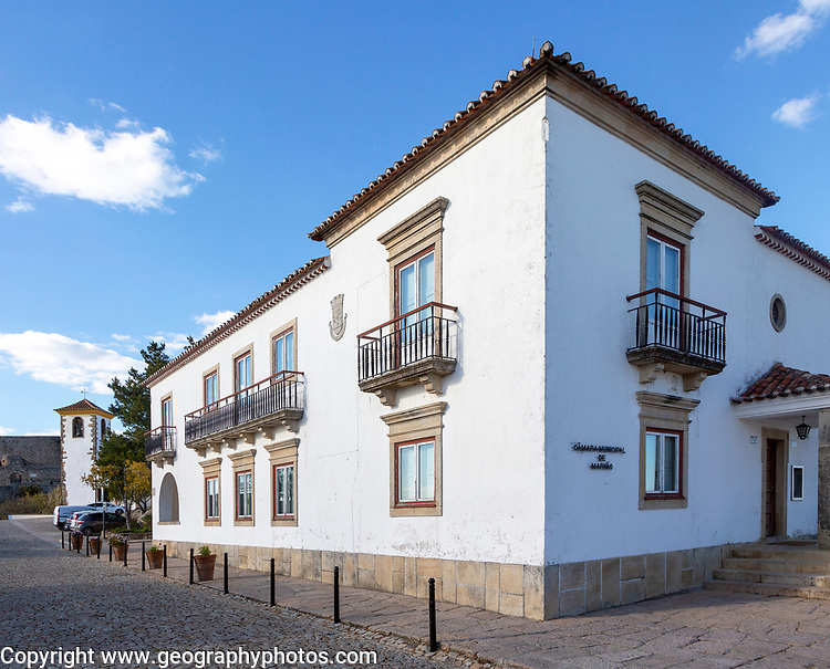Local government municipal office in Marvao, Portalegre district, Alto Alentejo, Portugal, Southern Europe