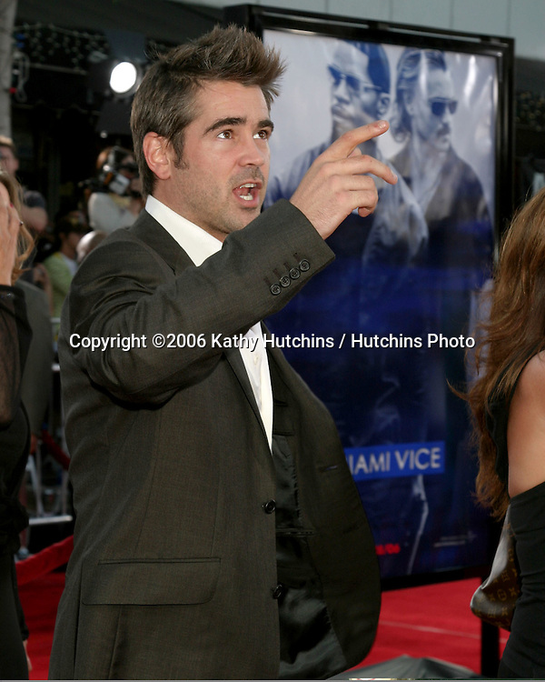"""Colin Farrell .""""Miami Vice"""" Premiere.Mann's Village Theater.Westwood, CA.July 20, 2006.©2006 Kathy Hutchins / Hutchins Photo...."""