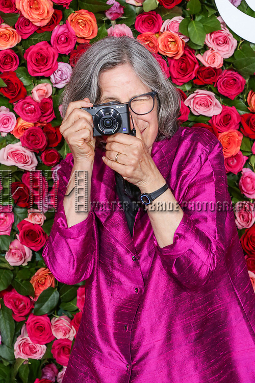 NEW YORK, NY - JUNE 10:  Photographer Sara Krulwich  attends the 72nd Annual Tony Awards at Radio City Music Hall on June 10, 2018 in New York City.  (Photo by Walter McBride/WireImage)