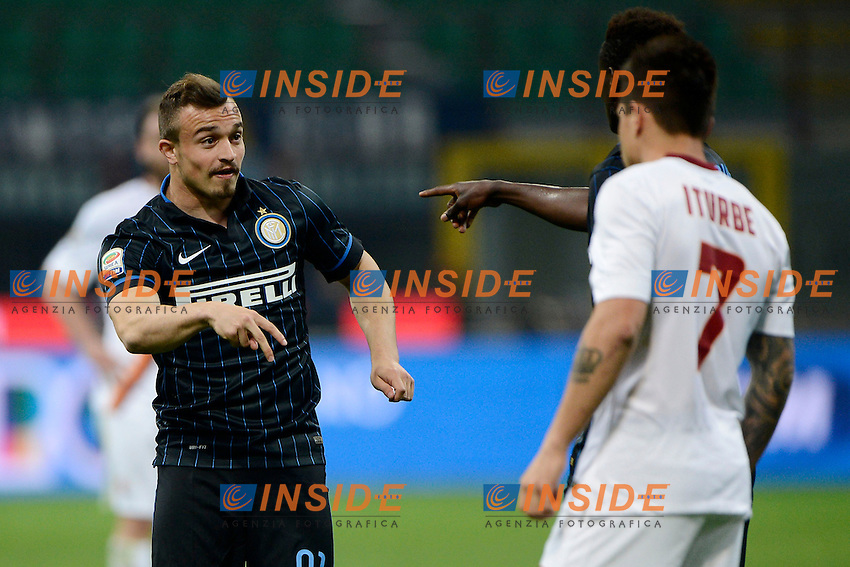 Xherdan Shaqiri Inter<br /> Milano 25-04-2015 Stadio Giuseppe Meazza - Football Calcio Serie A Inter - Roma. Foto Giuseppe Celeste / Insidefoto